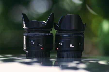 types of lens hood