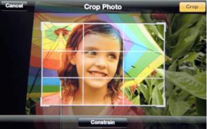 photo crop