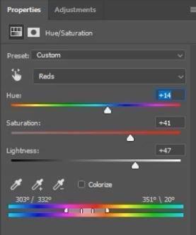 Return skin to normal colors