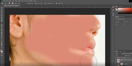 add color back into skin