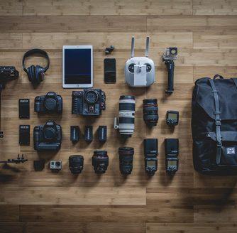 Cameras the pros use