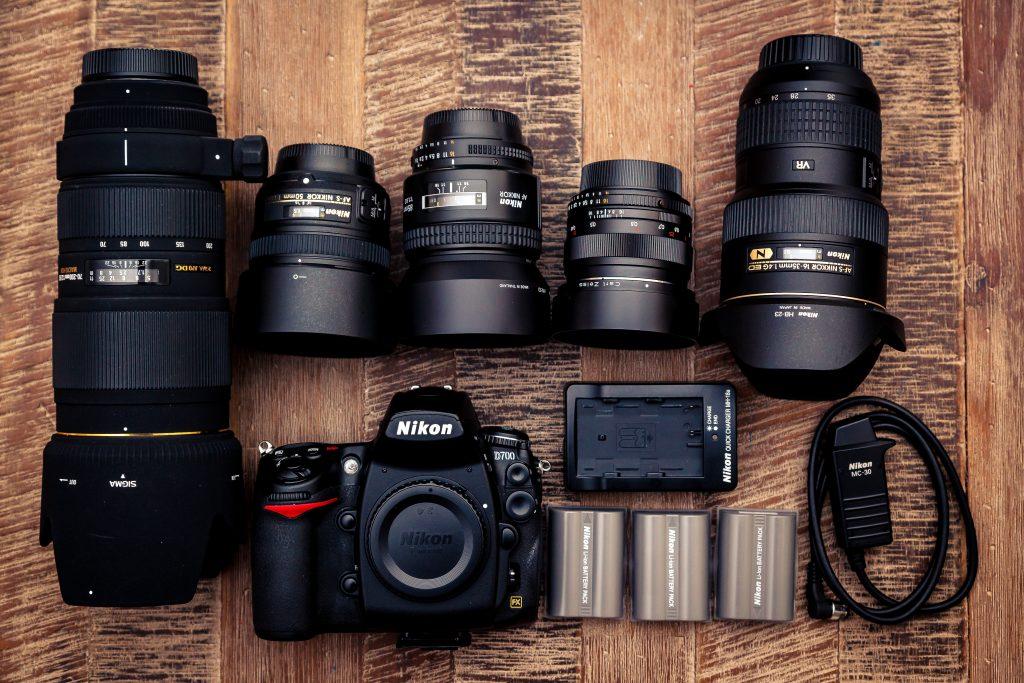 camera battery kit